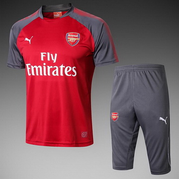Maillot de Formation Arsenal rouge-03 2017/2018