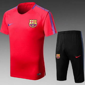 Maillot de Formation Barcelone Rouge 2017/2018