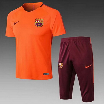 Maillot de Formation Barcelone Orange 2017/2018