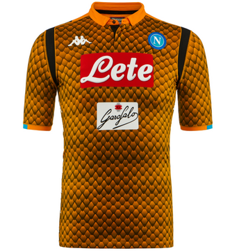 Maillot de Napoli Gardien Orange 2018/2019