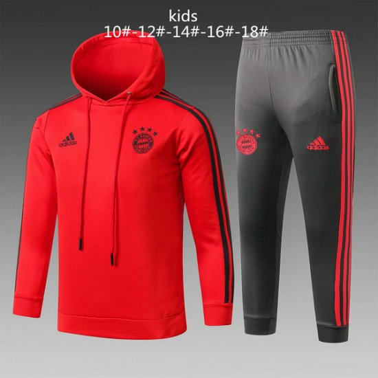Maillot Formation ML Enfant Bayern Munich Rouge-01 2018 2019