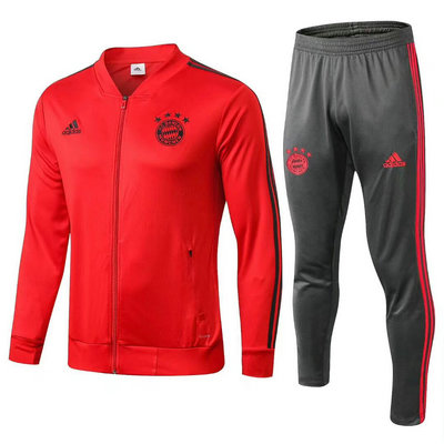 Veste de foot Bayern Munich rouge-01 2018 2019