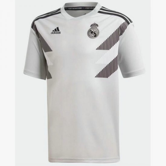 Maillot avant-match Real Madrid Blanc 2018 2019