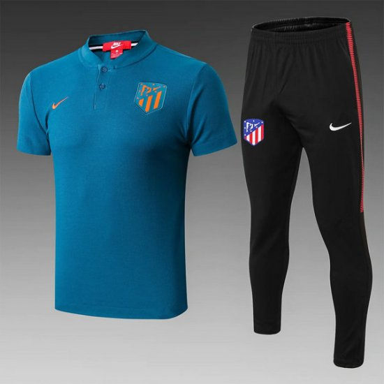 Maillot Polo Atletico Madrid Bleu 2019 2020