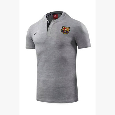 Maillot polo Barcelone Gris 2018 2019