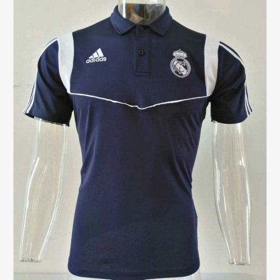 Maillot Polo Real Madrid Bleu fonce 2019 2020