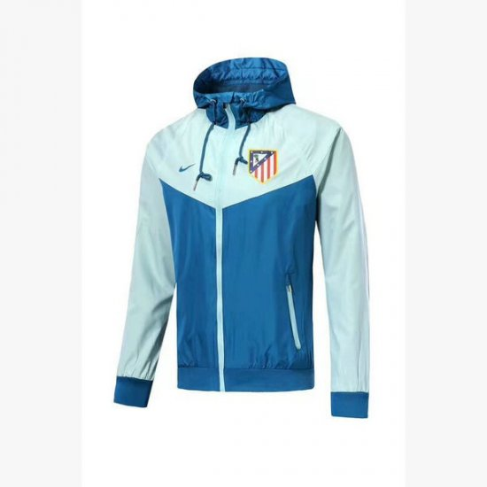 Veste de foot Atletico de Madrid Bleu-01 2018 2019