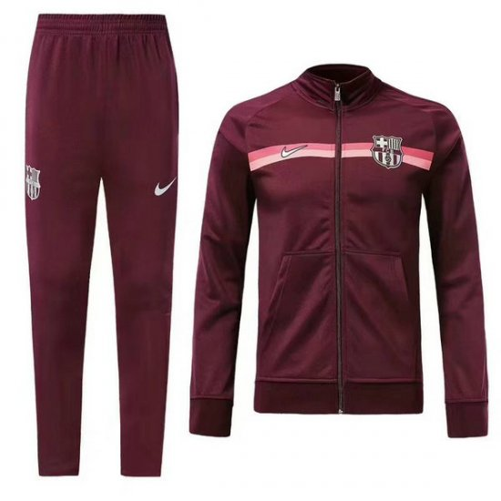 Veste de foot Barcelone Rouge-01 2018 2019