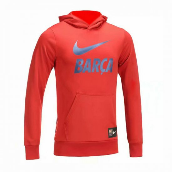 Veste de foot Barcelone Rouge-02 2018 2019