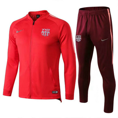 Veste de foot Barcelone Rouge 2018 2019