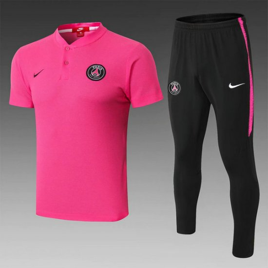 Maillot Polo PSG Rose 2019 2020