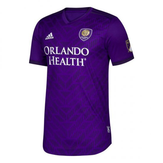 Thai Maillot Orlando City Domicile 2019 2020