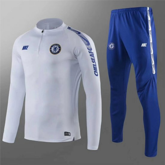 Maillot Formation ML Chelsea Blanc 2018 2019