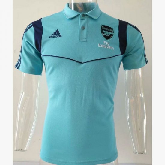 Maillot polo Arsenal Bleu 2019 2020
