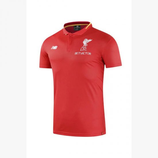Maillot Polo Liverpool Rouge 2018 2019