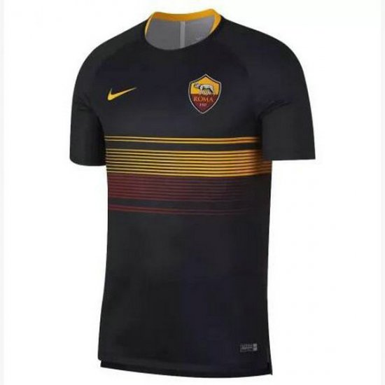 Maillot avant-match AS Roma Noir 2018 2019