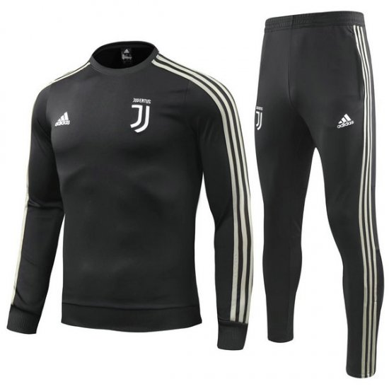Maillot Formation ML Juventus Noir-01 2018 2019