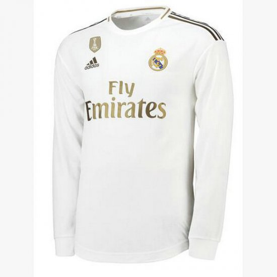 Maillot Real Madrid Manche Longue Domicile 2019 2020