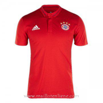 Maillot Bayern Munich polo Rouge 2016 2017