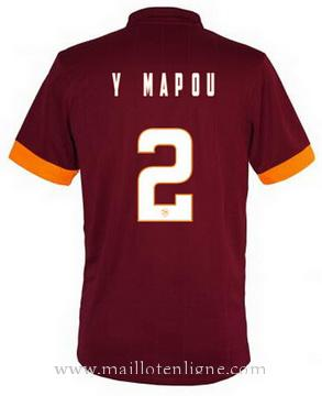 Maillot AS Roma A.MAPOU Domicile 2014 2015