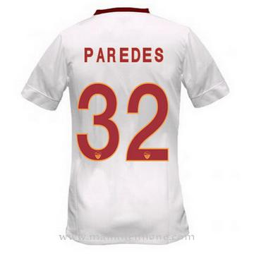 Maillot AS Roma PAREDES Exterieur 2014 2015
