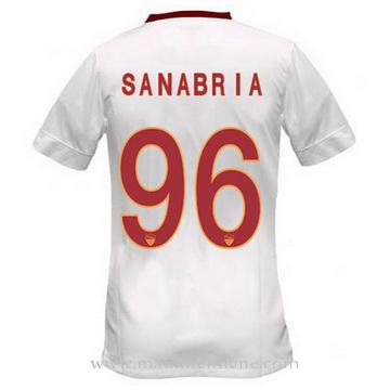 Maillot AS Roma SANABRIA Exterieur 2014 2015