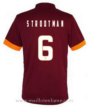 Maillot AS Roma STROOTMAN Domicile 2014 2015