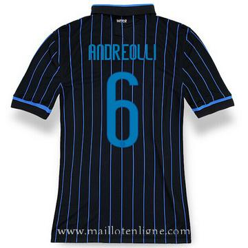 Maillot Inter Milan ANDREOLLI Domicile 2014 2015