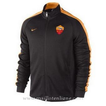 Veste de foot AS Roma 2014 2015 Noir