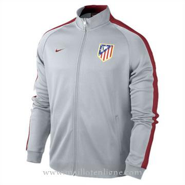 Veste de foot Atletico de Madrid 2014 2015 Gris