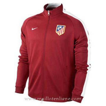 Veste de foot Atletico de Madrid 2014 2015 Rouge