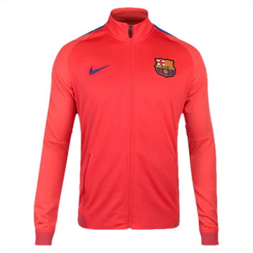 Veste de foot Barcelone 2016 2017 Orange