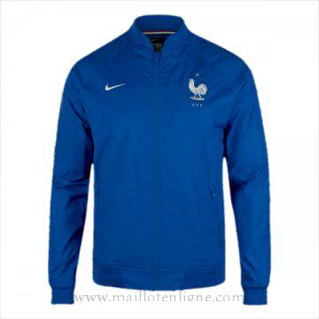 Veste de foot France 2016 2017 Bleu