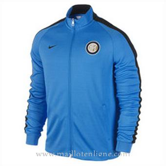 Veste de foot Inter Milan 2014 2015 Bleu
