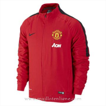 Veste de foot Manchester United 2014 2015 Rouge