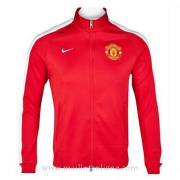 Veste de foot Manchester United 2014 2015 rouge sang