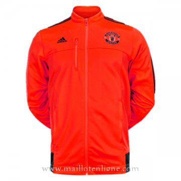 Veste de foot Manchester United 2016 2017 Orange