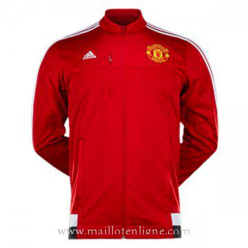 Veste de foot Manchester United 2016 2017 Rouge