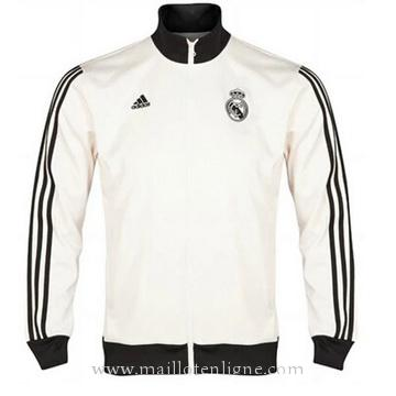 Veste de foot Real Madrid 2014 2015 Blanc