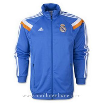 Veste de foot Real Madrid 2014 2015 Bleu