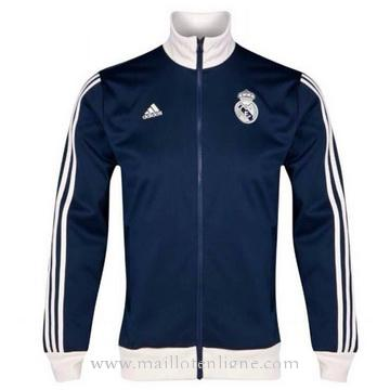 Veste de foot Real Madrid 2014 2015 Marine Blue