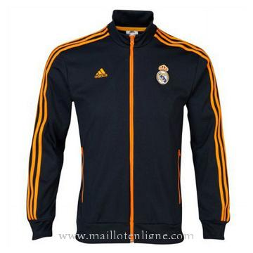 Veste de foot Real Madrid 2014 2015 Noir