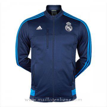 Veste de foot Real Madrid 2016 2017 Bleu