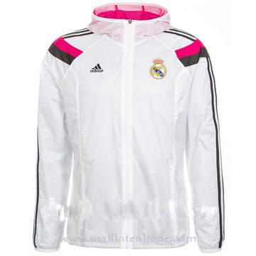Veste de foot Real Madrid blanc 2014 2015