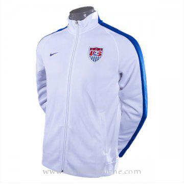 Veste de foot USA 2016 2017 Blanc