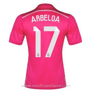 Maillot Real Madrid ARBELOA Exterieur 2014 2015