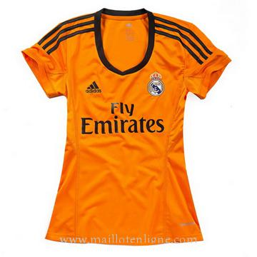 Maillot Real Madrid Femme Troisieme 2013-2014
