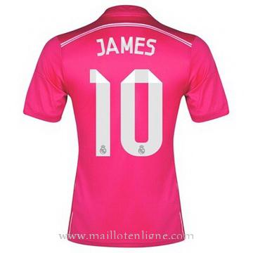 Maillot Real Madrid JAMES Exterieur 2014 2015