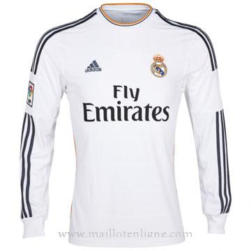 Maillot Real Madrid Manche Longue Domicile 2013-2014