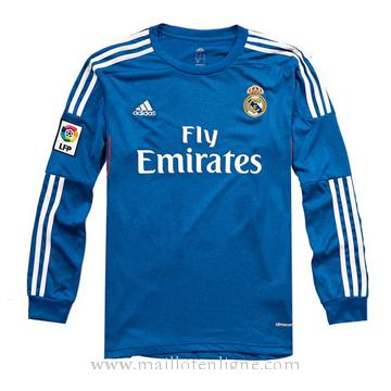Maillot Real Madrid Manche Longue Exterieur 2013-2014